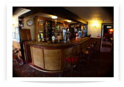 Picture of The Golden Lion showing the bar area with ales hand pumps